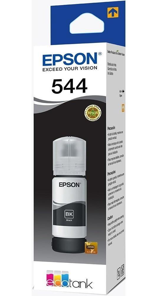 Refil de Tinta Original Epson 544 Preto - T544120