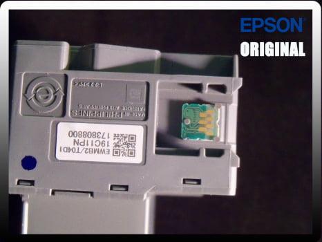 Caixa De Manutenção Original Epson T04d1